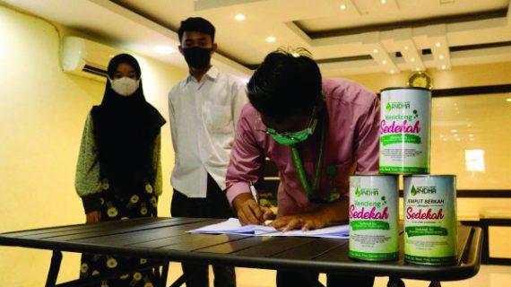 LAZ RYDHA Kembali Mengadakan Acara Penandatanganan MOU dengan Penerima B-Best Baru Tahun Ajaran 2021/2022 Tingkat SMA dan PTN